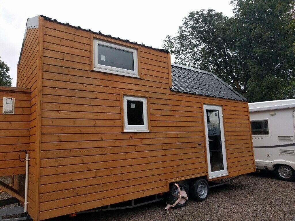 Grande tiny house bois
